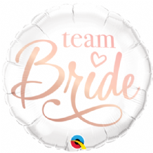 "Team Bride Foil Balloon (18"") 1pc"